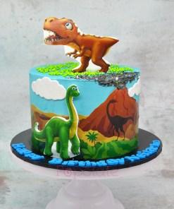 Cute dino cake 7 inch