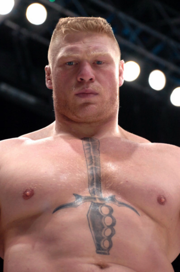 Brock Lesnar's Trainning