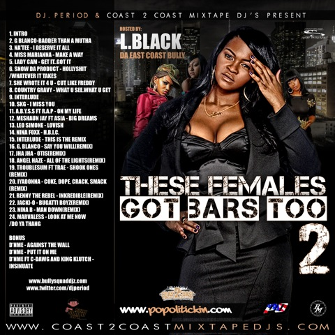 DJ Period presents: These Females Got Bars Too Vol.2 (Mixtape)