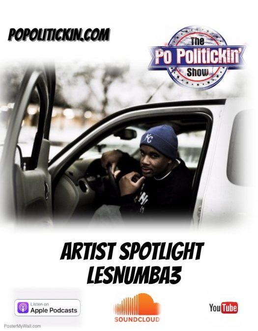 [Podcast]  Artist Spotlight – LesNumba3   @LesNumba3