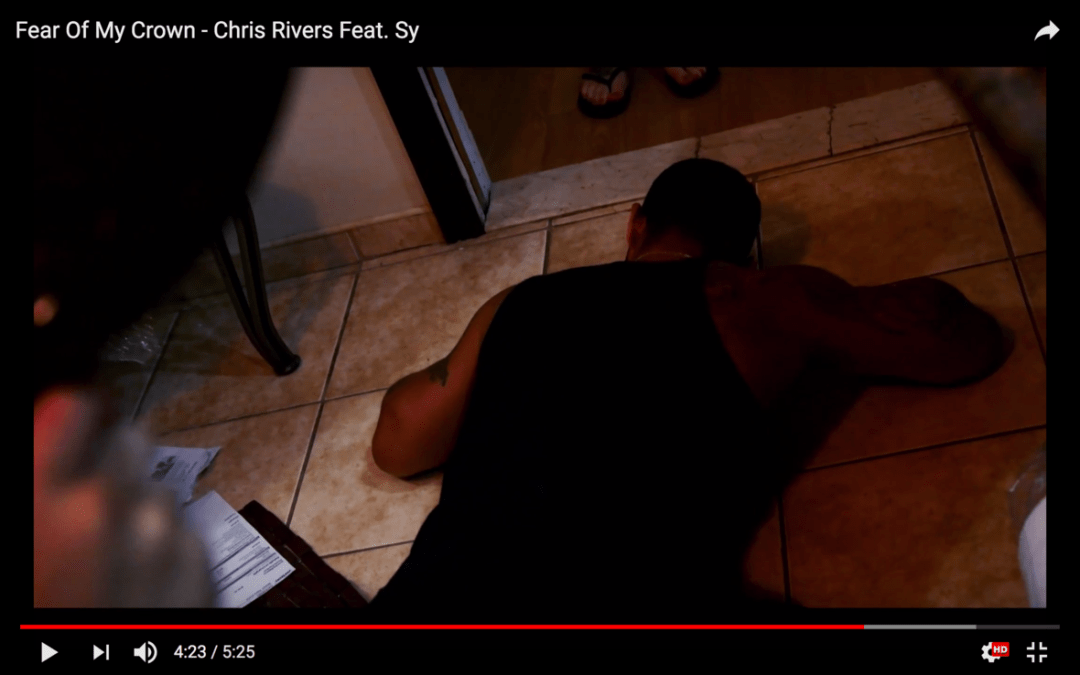[Video] Chris Rivers – Fear Of My Crown | @OnlyChrisRivers