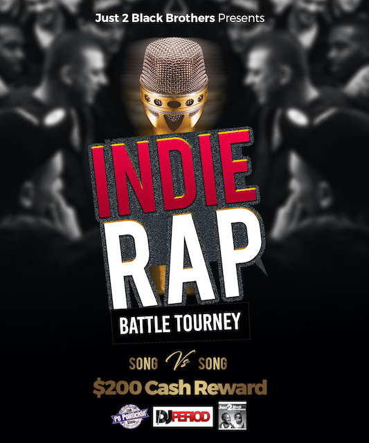 Coming Soon – Just 2 Black Brothers Indie Rap Battle Tourney [Video]