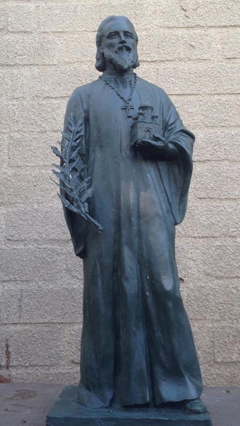 Модель памятника работы скульптора Д.В. Лындина