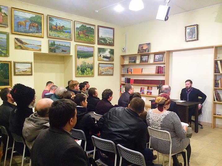 7.03.2015: первое мероприятие Казачьего историко-культурного центра