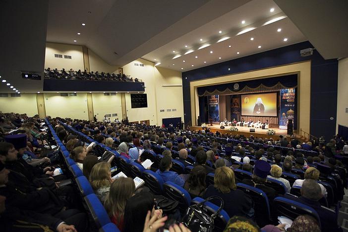 В конгресс-холле Донского государственного технического университета: открытие XIX Димитриевских образовательных чтений