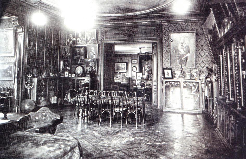 Интерьер музея, 1930-е годы