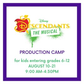 Disney's Descendants Production Camp