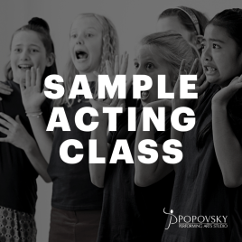 Acting Sample Class
