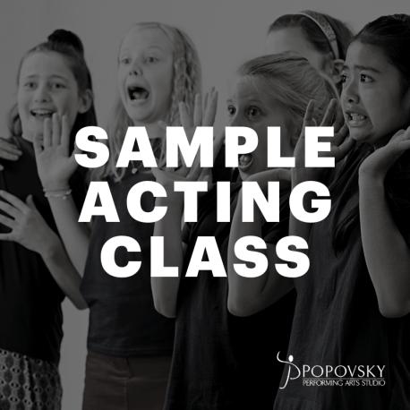 Sample Acting Class