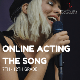 Online Acting the Song