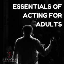 Essentials of Acting for Adults