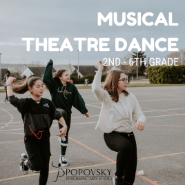 Musical Theatre Dance for 2nd-6th Grade