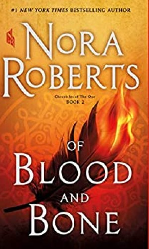 Of Blood And Bone by Nora Roberts - Poppies and Jasmine