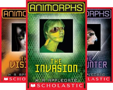 The Animorphs - K.A. Applegate | Childrens Books To Read With Your Kid - Poppies and Jasmine