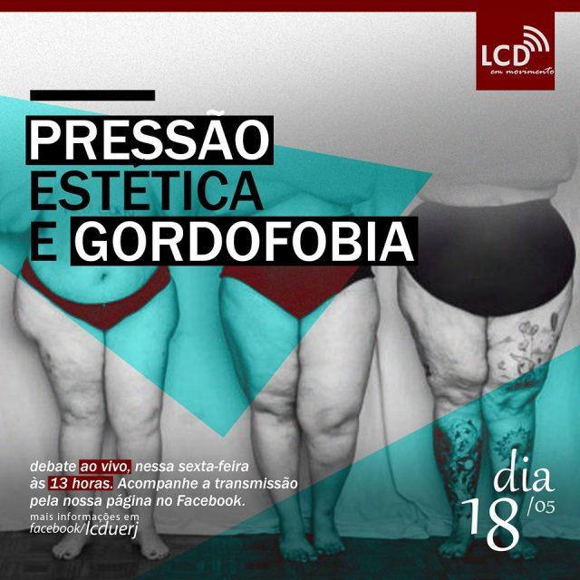 """RJ – LCD em Movimento – Live """"Pressão Estética e Gordofobia"""""""