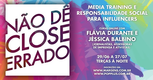 Media training e responsabilidade social são tema de curso de Flávia Durante e Jéssica Balbino