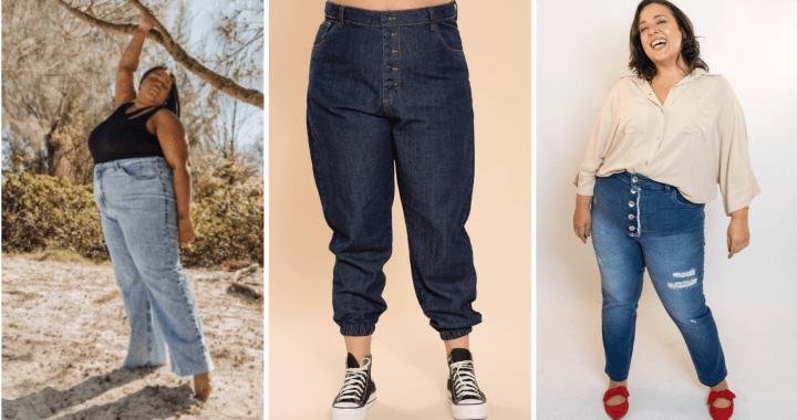 Jeans Plus Size: modelagens modernas para um look perfeito