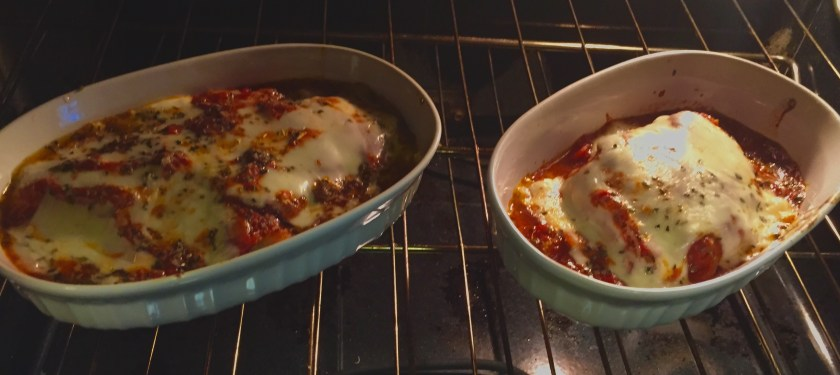 Chicken Parmesan poppopcooks.com