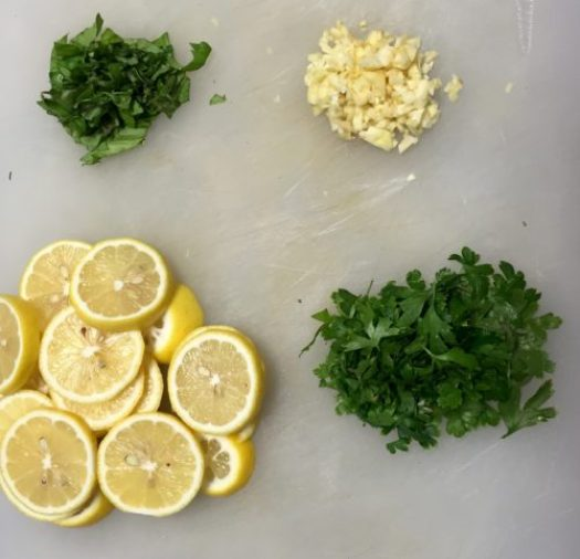 Lemon Parmesan White Wine Chicken poppopcooks.com