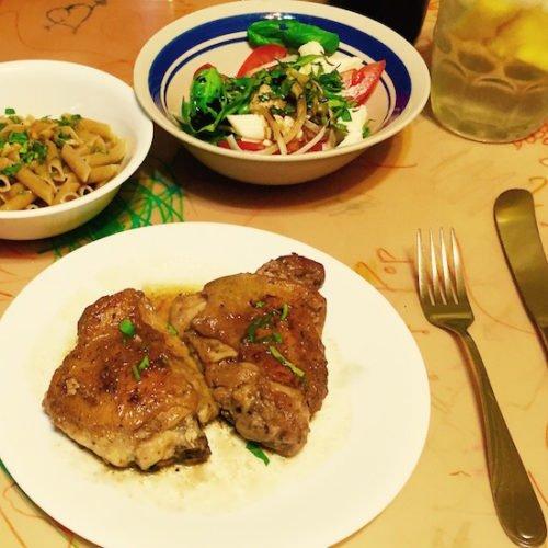 Grilled Chicken alla Diavola Roman Style poppopcooks.com