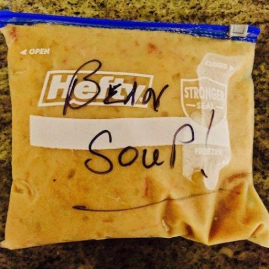 Crock Pot Ham Bone Bean Soup4 poppopcooks.com