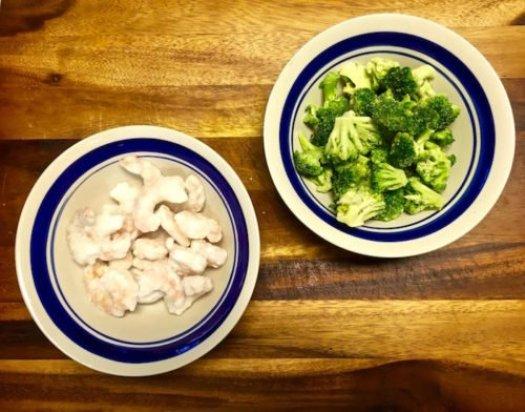 Garlic Shrimp with Broccoli1 poppopcooks.com