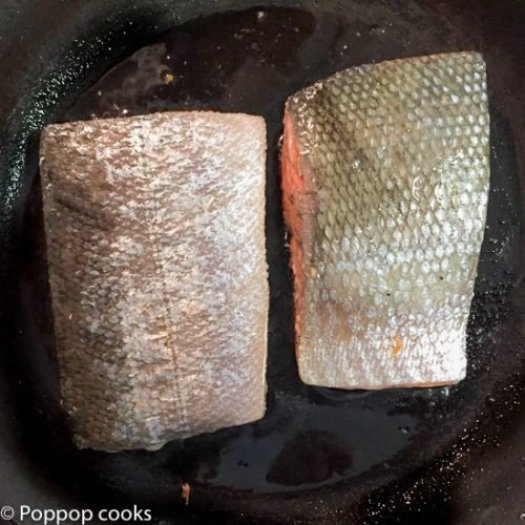 Pan Seared Salmon-4-poppopcooks.com
