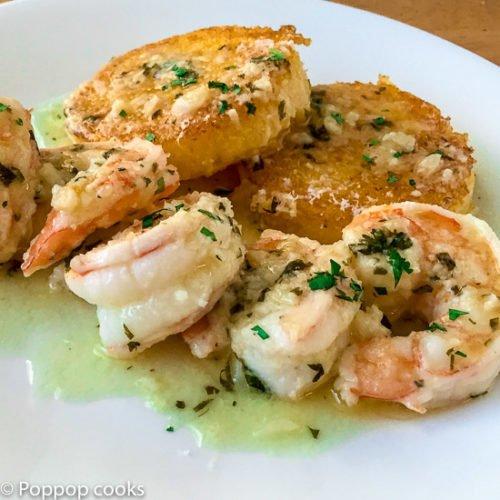 Shrimp Scampi Mexican Style-6-poppopcooks.com