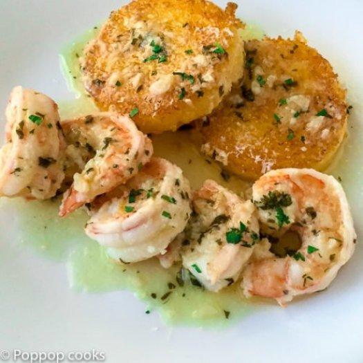 Shrimp Scampi Mexican Style-7-poppopcooks.com