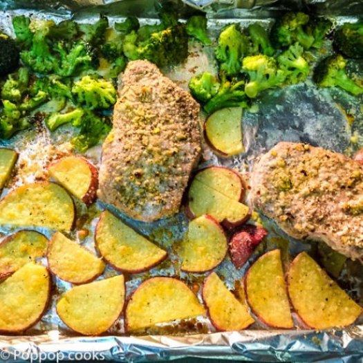 Oven Baked Pork Chops-3-poppopcooks.com