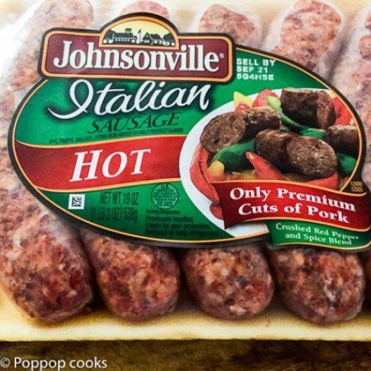 Quick Easy Italian Sausage Dinner-5-poppopcooks.com