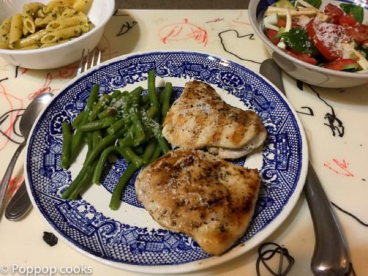 Grilled Chicken for the Future-poppopcooks.com