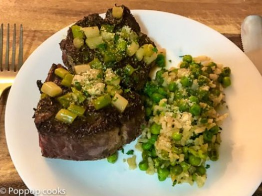 Lamb Chops with Scallions-8-poppopcooks.com