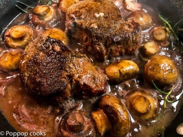 Filet Mignon-9-poppopcooks.com-beef tenderloin-beef tenderloin recipe-beef steak-beef recipes-tenderloin-easy filet mignon recipe-Quick and easy-gluten free-paleo