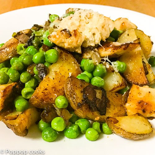Quick and Easy One Pan Chicken Dinner-9-poppopcooks.com-quick and easy-one pan-one pot-chicken-gluten free-paleo