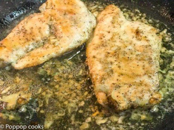 Little Italy Garlic Chicken-3-poppopcooks.com-little italy-butter chicken recipes-chicken recipes-recipe for butter chicken-easy chicken recipes-lemon butter chicken