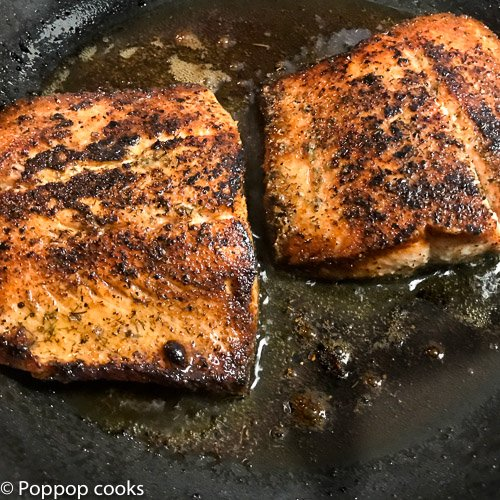 easy blackened salmon dinner-7-poppopcooks.com-quick and easy-weeknight recipes-quick and easy recipes for busy people