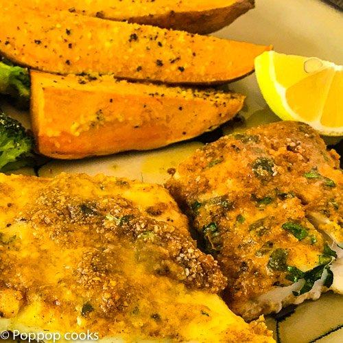 Baked Cod Filets-6-poppopcooks.com-one pan-gluten free-paleo