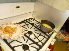 Frying Cod