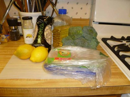Lemon Pistachio Chicken Ingredients