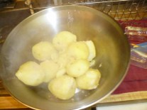 Boiled Potatoes For Mashing