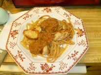 Chicken Milano Plated