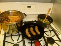 Steaming Buns, Grilling Brats, Warming Tuscan Rice