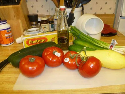 Pasta Estiva Ingredients