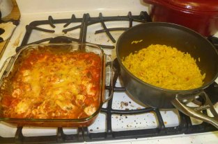 Salsa Chicken & Mexican Rice