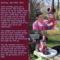 Saturday, April 25th, 2015