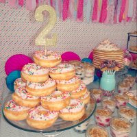 Audrey's Pancakes and Pajamas 2nd Birthday Party