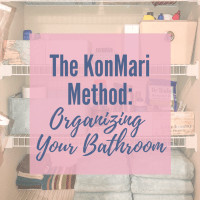 KonMari Method: Organizing Your Bathroom