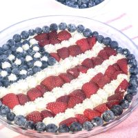 American Flag Fruit Pizza Recipe