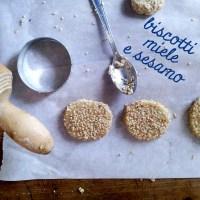 Biscotti miele e sesamo